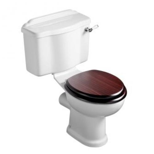 Traditional Reflections Ho Wc With Wooden Seat Cover