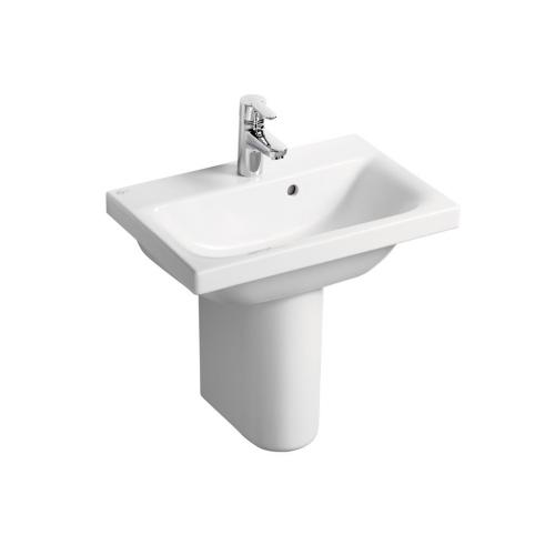 Concept Space Basin And Semi Pedestal, 550mm