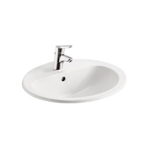 Orbit 21 Countertop 550mm Handrinse Basin With Overflow