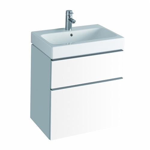 3d 600mm Wash Basin 595x620x477mm And Furniture-white