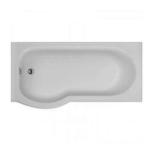 Galerie Optimise Offset Bath, Acrylic 1700x750mm No Tap Holes, Left/right