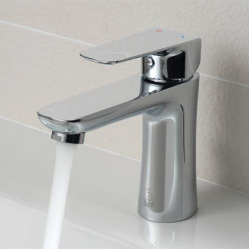 Vala Basin Mixer, Deck Mounted